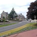 Cahagnes, la D54 vers Caumont-l'Eventé