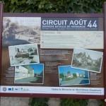 Chambois, panneau circuit août 44