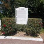Colleville-Montgomery, panneau site Hillman