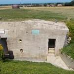 Colleville-Montgomery, site Hillman poste de commandement