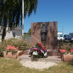 Saint-Manvieu-Norrey, monument The Royal Regina Rifles & First Hussars