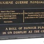 Noyers-Bocage, monument Typhoon Pilots