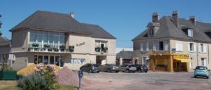 Noyers-Bocage, ville lettrine