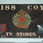 Ranville, Mémorial Pegasus, plaque Royal Engineers