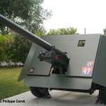 Ranville, Mémorial Pegasus, 17 pounder anti-tank gun