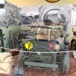 Ranville, Mémorial Pegasus, jeep de la 6th Airborne Division