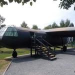 Ranville, Mémorial Pegasus, planeur Horsa (reproduction)