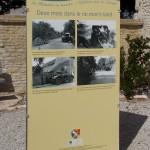 Sallenelles, panneau du 70e anniversaire