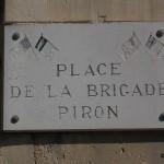 Sallenelles, place de la Brigade Piron