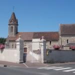 Saint-Aubin-d'Arquenay, l'église Saint-Aubin du XIe siècle
