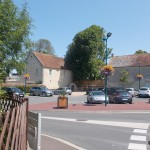 Saint-Aubin-d'Arquenay, la place Boisset