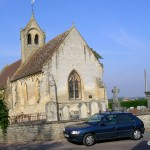 Mittois, l'église Saint-gervais Saint-Protais du XIIe siècle