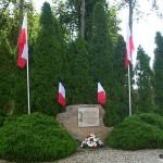 Vendeuvre, monument 1re Division blindée polonaise