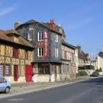 Crevecoeur-en-Auge, le centre ville