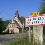 Les Autels-Saint-Bazille, l'église