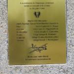 Lessard-et-le-Chêne, stèle aviateurs 9th US Air Force