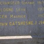 Cernay, plaque James Gatschene