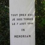 Clarbec, monument pilote britannique