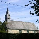 La Boissière, l'église Notre-Dame du XIIe siècle