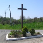 Norolles, calvaire de la Croix des Couettes