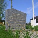 Saint-Martin-de-Mailloc, stèle Flight Lieutenant Roseland