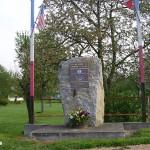 Beaumais, monument Captain Robert Cranmer