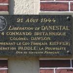Danestal, plaque N°4 Commando