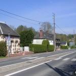 Danestal, la route nationale vers Pont-l'Evêque