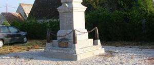 La Hoguette, monument lettrine