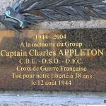 La Hoguette, Captain Charles Appleton