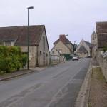 Ouilly-le-Tesson, l'entrée de la ville