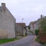 Soulangy, l'entrée de la commune