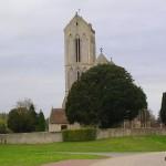 Soulangy, l'église de la Nativité-de-Notre-Dame du XIIIe siècle