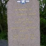 Etienville, stèle 1st Lieutenant Piche