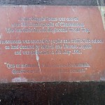 Rauville-la-Place, plaque Lieutenant Beane