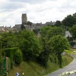 Brix, vue sur la ville