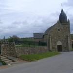 L'Etang-Bertrand, l'église Saint-Siméon du XVIIIe siècle