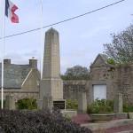 Tréauville, plaque Royal Air Force