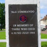 Amfreville, monument N°6 Commando