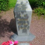 Amfreville, stèle N°3 Commando