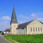 Banneville-la-Campagne, l'église de l'Assomption Notre-Dame