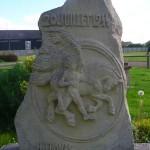 Bourguebus, stèle du 20 juillet 1944