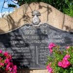 Saint-Contest Buron, monument Sherbrooke Fusilier Regiment