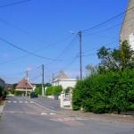 Troarn Bures-sur-Dives, le centre du bourg