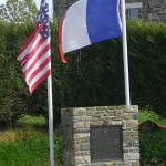 Bolleville, monument 164th General Hospital