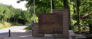 Portbail, monument lettrine