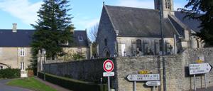 Saint-Gabriel-Brécy, ville lettrine