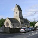 Vaucelles, l'église et le cimetière