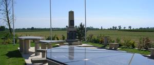Ellon, monument lettrine