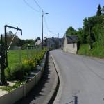 Ellon, l'entrée du bourg